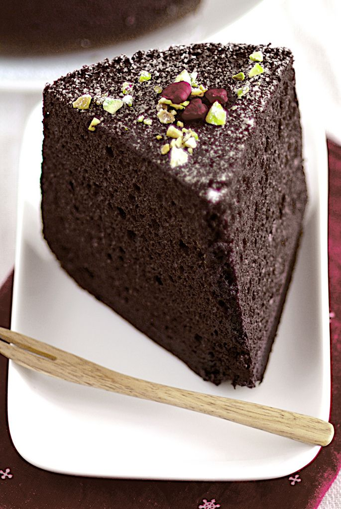 Chocolate Chiffon Cake. Can't wait to try this recipe ...