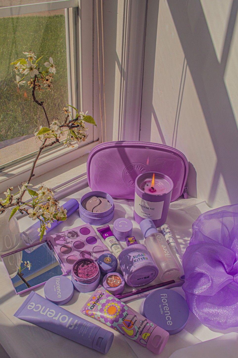 Millie Bobby Brown Purple Aesthetic