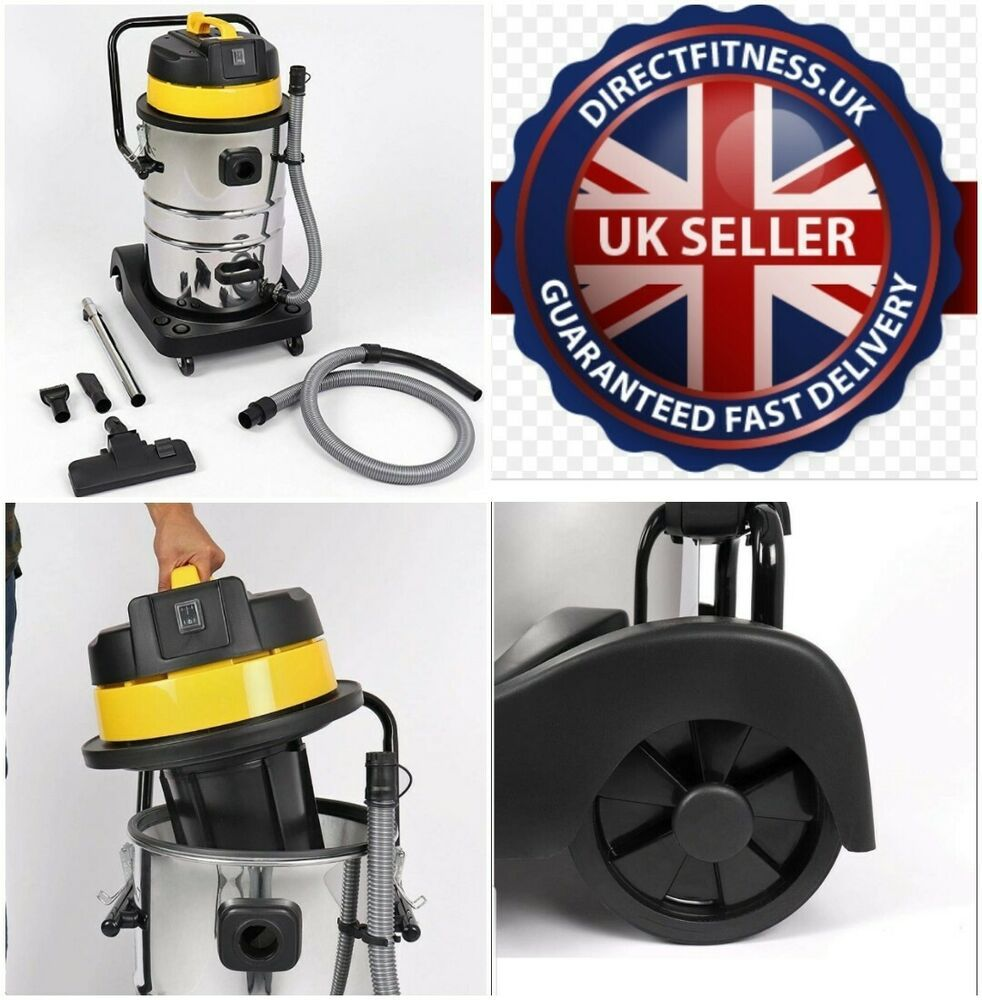 Wet and Dry Vacuum Cleaner Car Wash Industrial Stainless