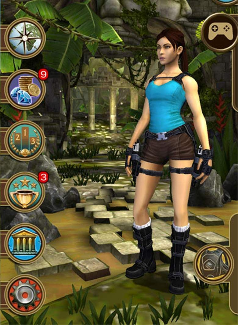 lara croft relic run hack app download
