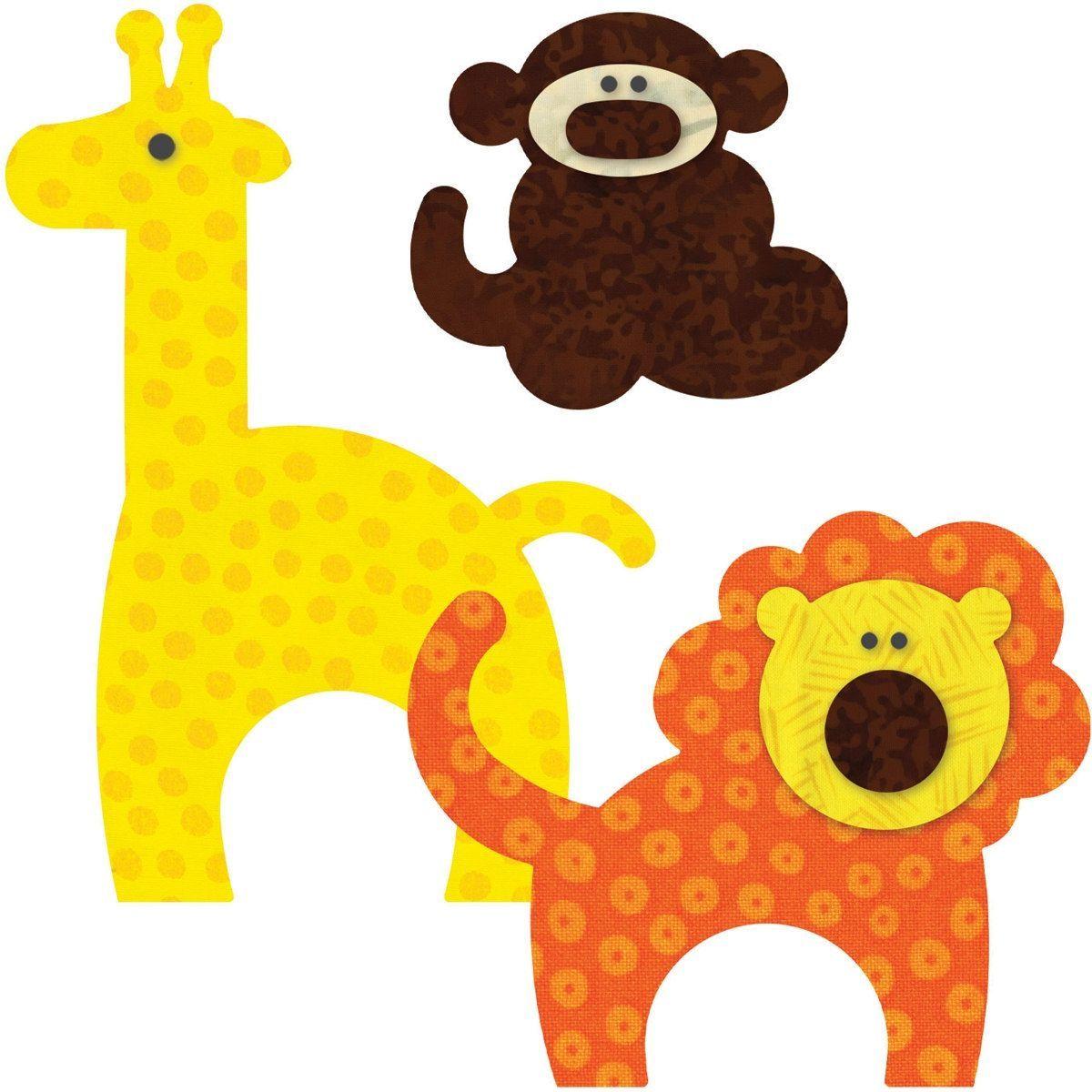 Accuquilt GO This u That Fabric Cutting DiesZoo Animals zoo