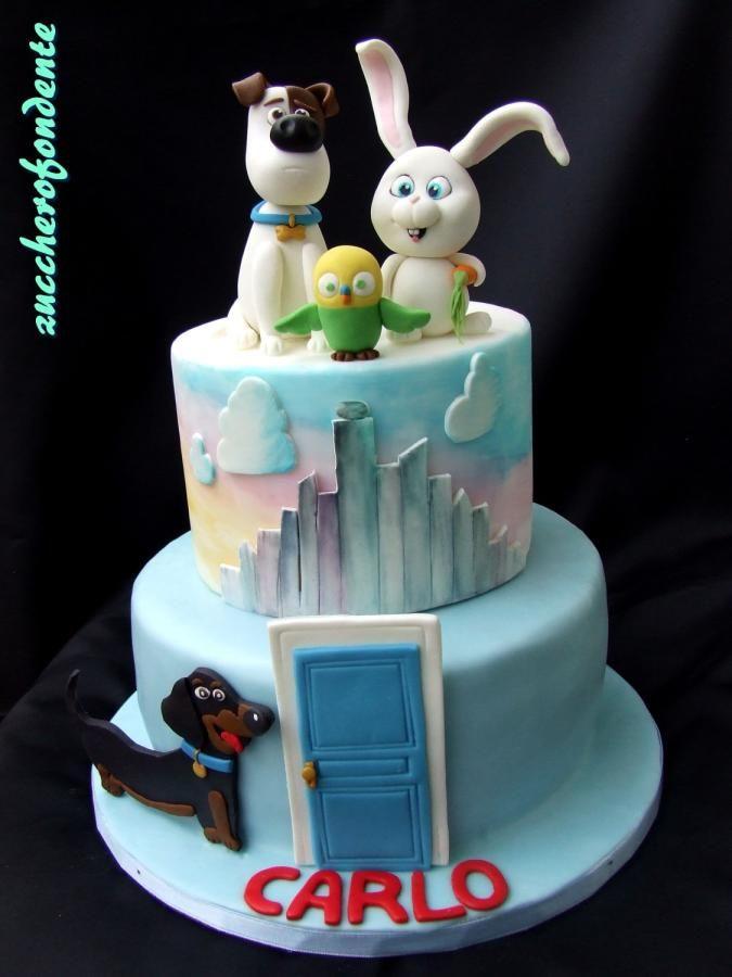 The Secret Life Of Pets Cake By Zuccherofondente 1st Birthday