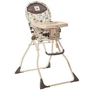 Cosco Slim Fold High Chair Super Safari Folding High Chair