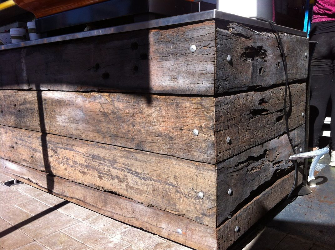 Recycled Timber Cladding Outside Bars Home Furniture