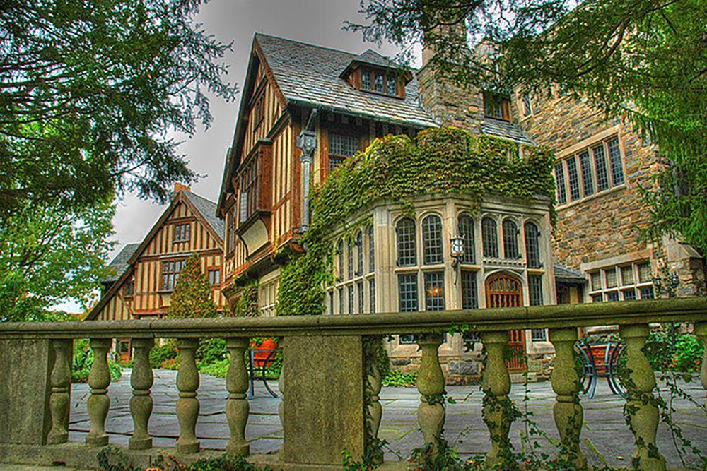 Skylands Manor Castle at NJ Botanical Gardens Ringwood NJ