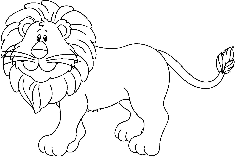 Dibujos Para Colorear Leon León Cute Elephant Drawing Clip Art