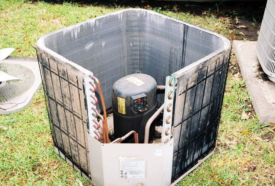 Air Conditioning Compressor Unit Before you call a AC