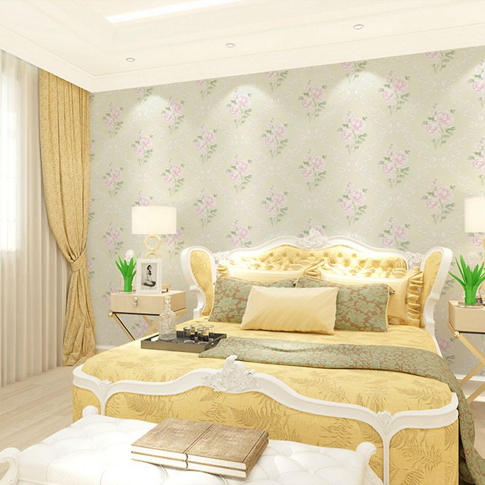 China Supplier eco-friendly wall decoration paper removable elegant ...