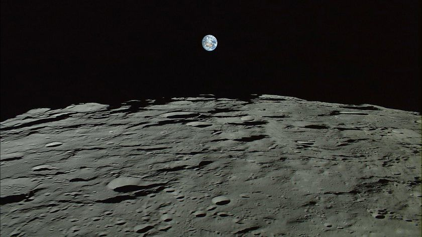 Japan S New Close Up Photos Of The Moon S Surface Are