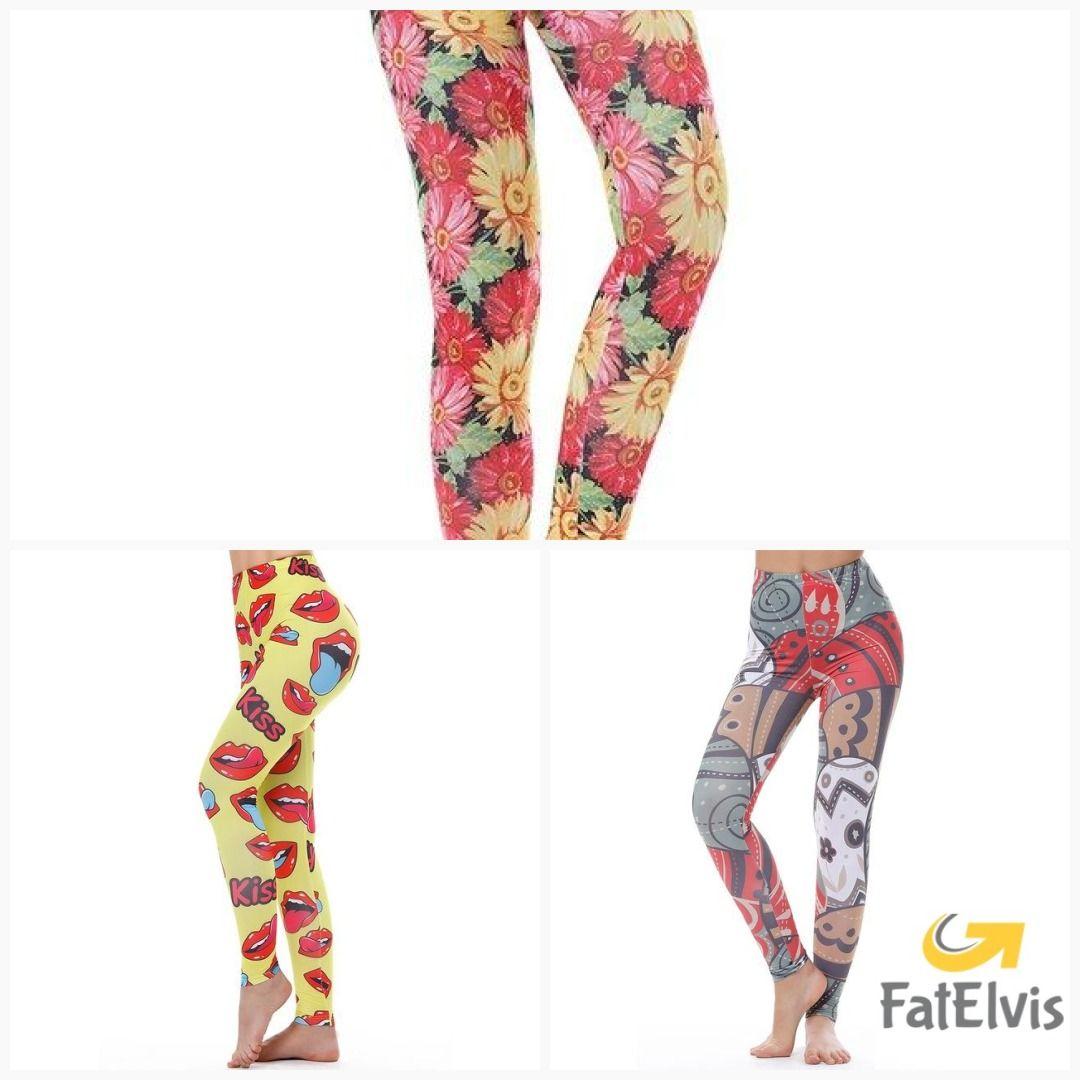 ff212359edcb9 KYKU Brand Unicorn Leggings Women Leggins Fitness Legging Sexy Pants High  Waist Push Up Shiny 3d Printed Rainbow Star Cat Donuts #men #women #relax  #yoga ...