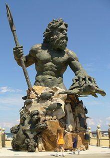 Eastern Virginia Beach King Neptune Statue Wikipedia