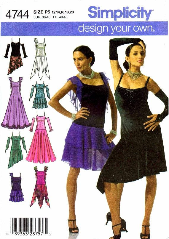 Simplicity 4744 Sewing Pattern - 99.9KB