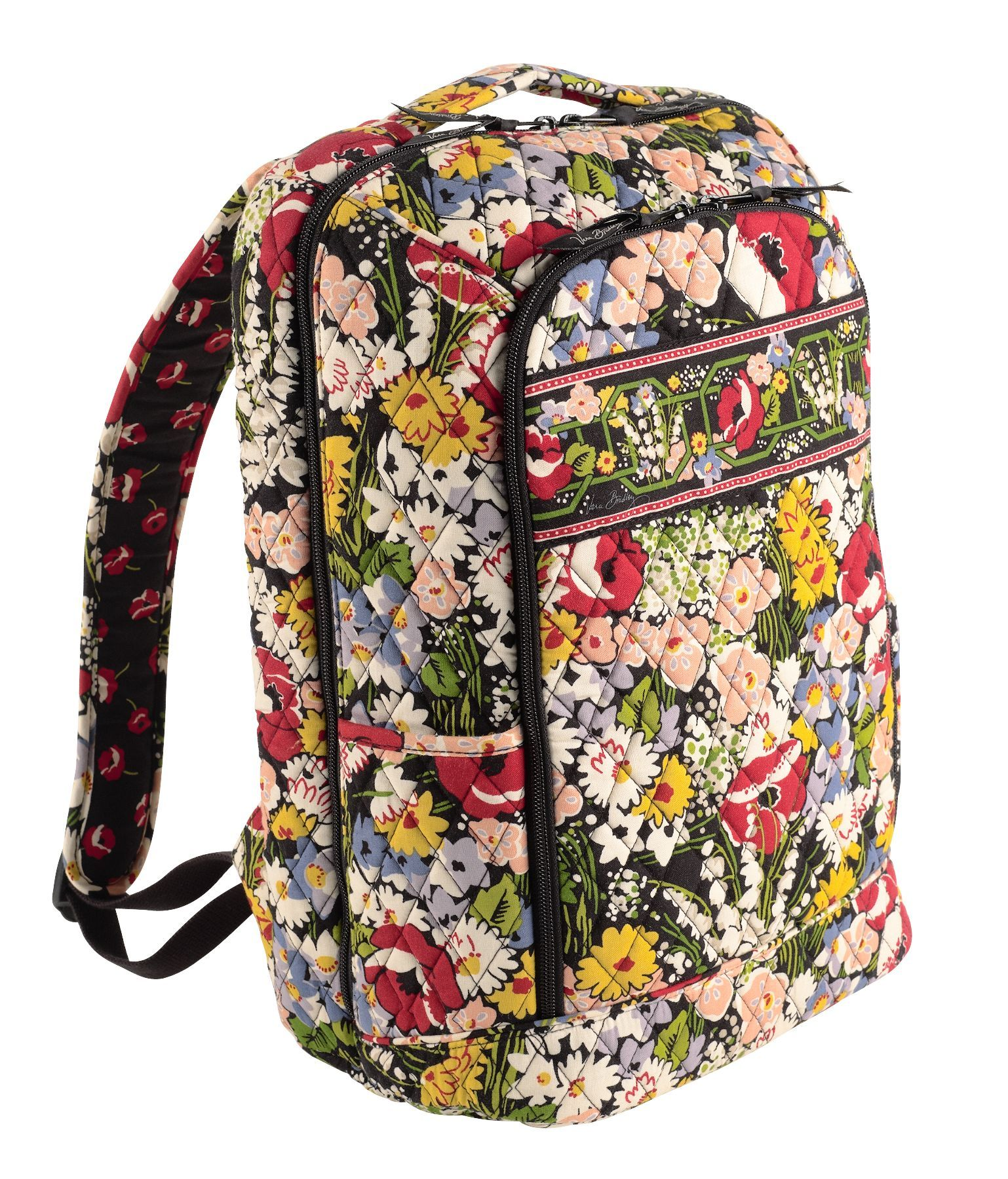 57a59c412024 Vera Bradley Laptop Backpack in Poppy Fields. My other design