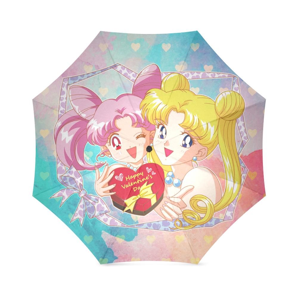 Happy Valentines Day Foldable Umbrella