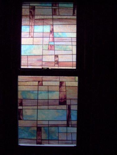 Artscape 24 In X 36 In City Lights Decorative Window