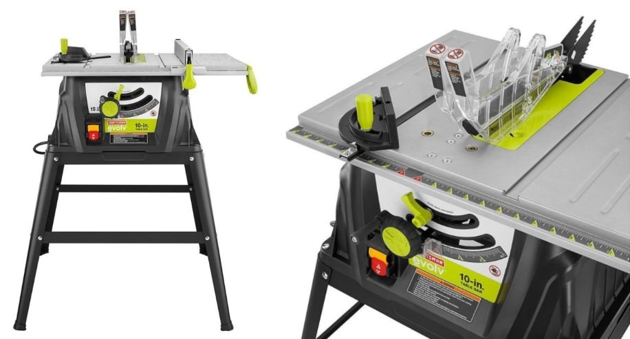 Craftsman Evolv 10 In Table Saw Features Craftsman Tablesawfeatures 10intablesaw Table Saw Best Table Saw Saw