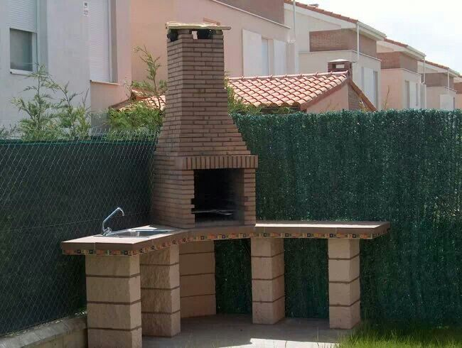 Asador outside pinterest asador parrilla y jard n for Decoracion hogar artesanal