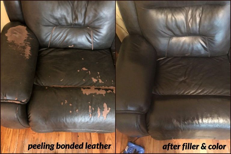 How to Repair Peeling Leather? Faux Leather & Bonded