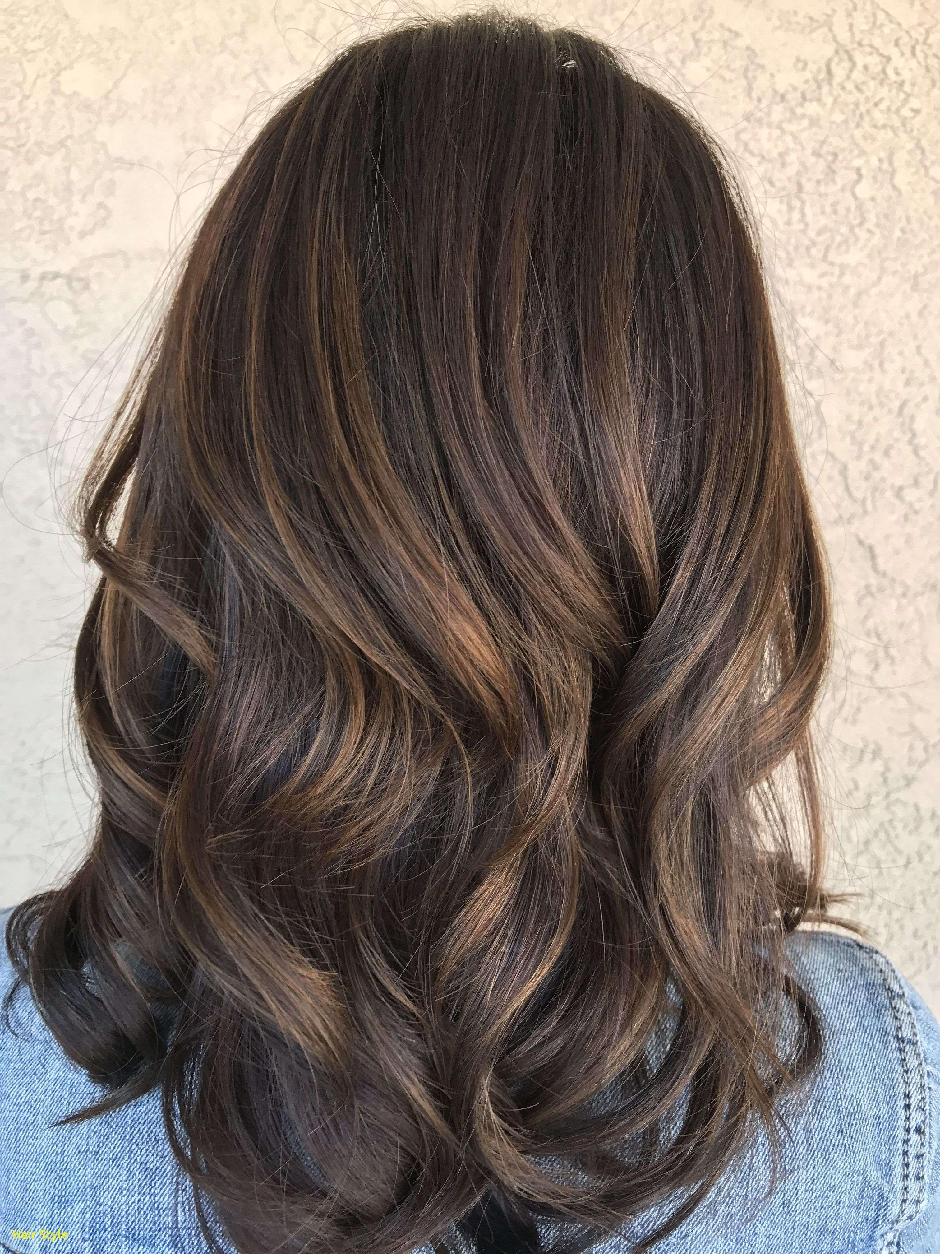 Elegante Braune Haarfarbe Mit Highlights Ideen Haarfarben