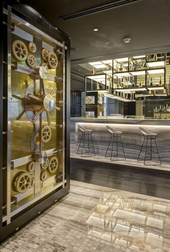 Vault Bar Uae By Lw Design Group Cafe Bar Design