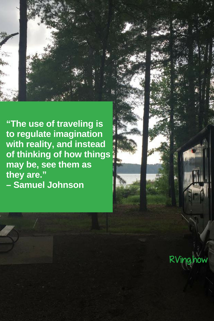 What is your favoritest thing about RVing?