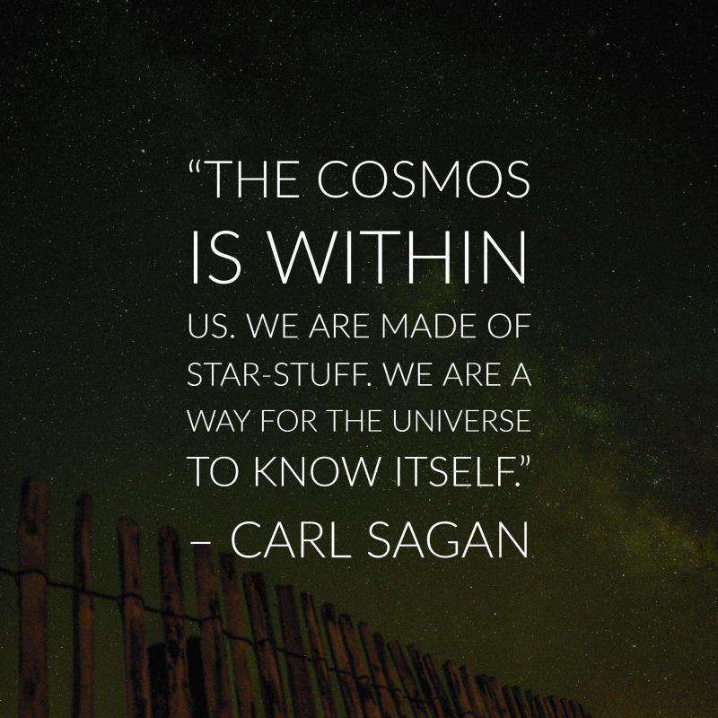 30 Precious Carl Sagan Image Quotes About The Cosmos