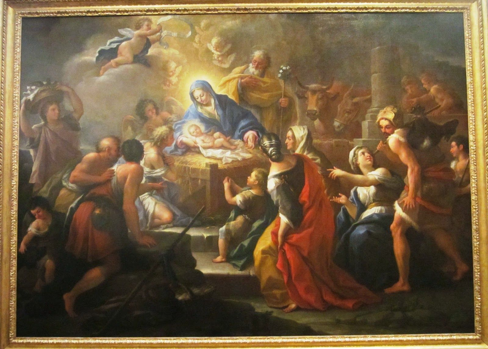 a critique of the adoration of the shepherds a painting by paolo de matteis View over 112 paolo de' matteis the adoration of the shepherds the angel here may be compared to the figure of apollo in de matteis' painting of.