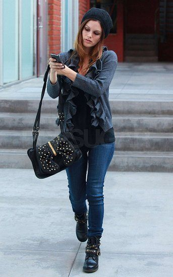 the chic sheet rachel bilson street style inspiration