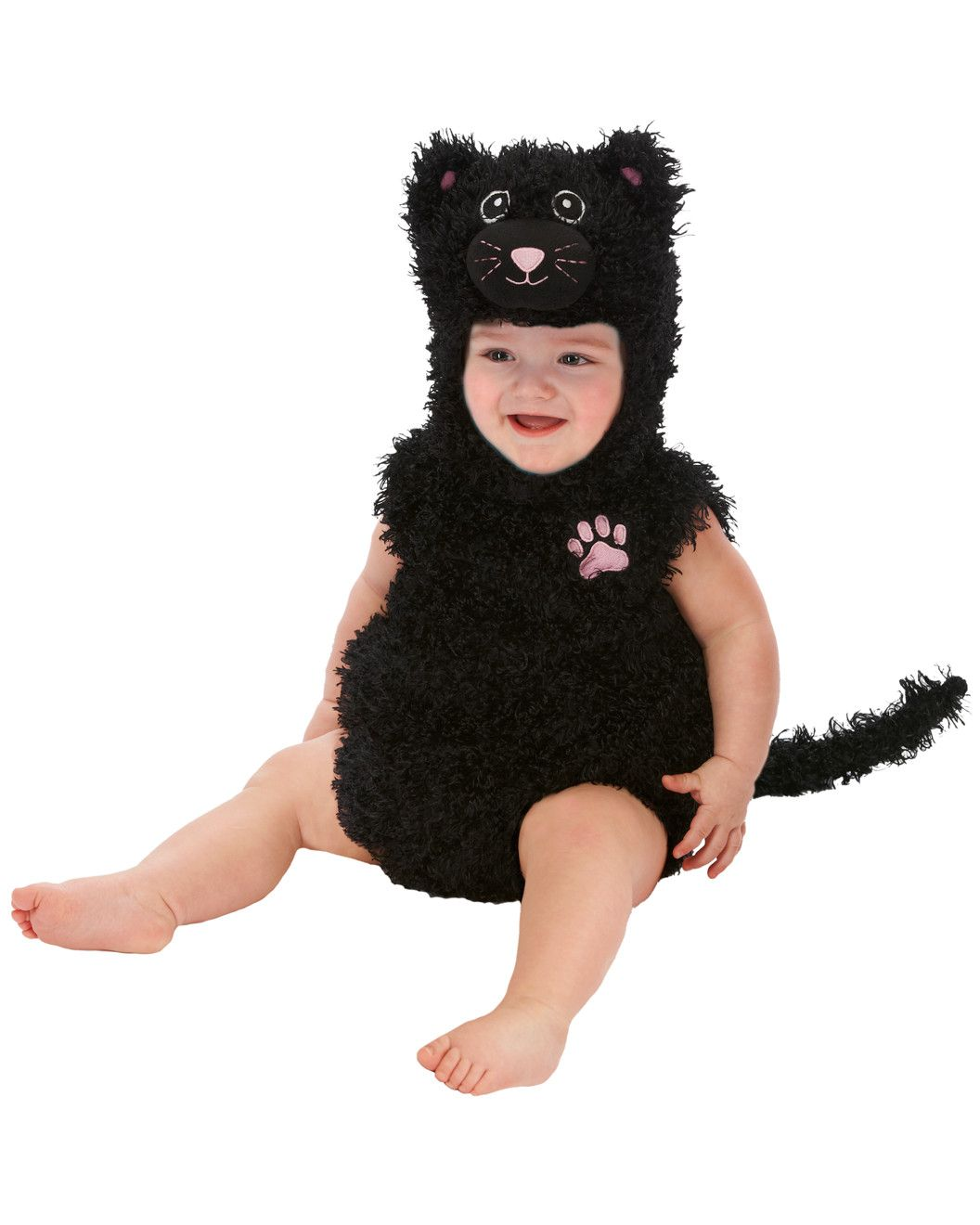Spotted This Just Pretend Black Cat Infant Romper 0m 12m On Rue La La Shop Quickly Black Cat Halloween Costume Black Cat Costumes Kids Black Cat Costume