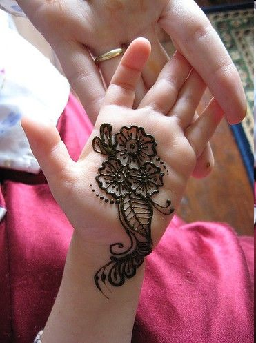 10 Best And Simple Mehandi Designs For Kids  2018,2019