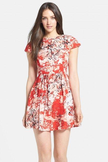 Parker 'Kinley' Fit & Flare Dress