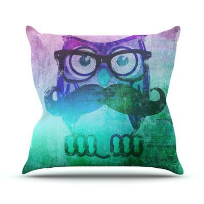 KESS InHouse Showly by iRuz33 Throw Pillow Color: