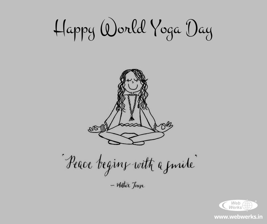 Happiness Is Peace Happy World Yogaday Yoga Inspiration Quotes Yoga Inspiration Happy Yoga