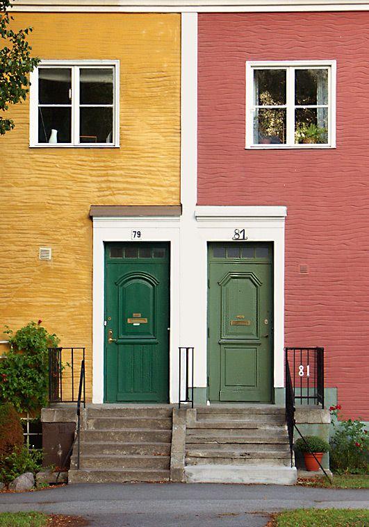 Next door neighbours - Stockholm, Sodermanland
