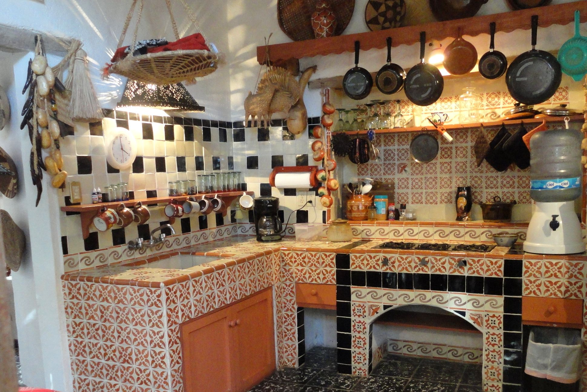 3 The Colonial Tres Casitas This The Closest Example Of My Grandma 39 S Kitchen In Mexico City