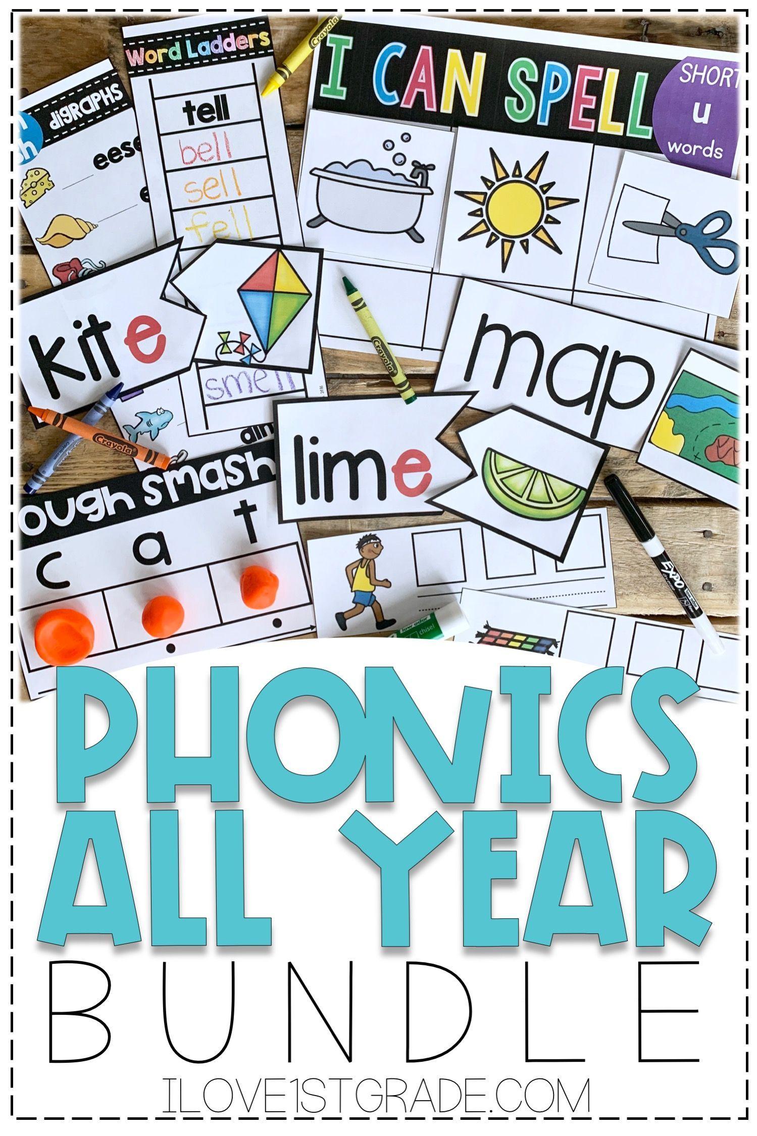 Phonics Curriculum First Grade
