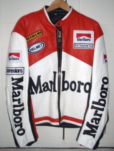 Marlboro Jacket Vintage Jacket Outfit Marlboro Jacket Leather Motorcycle Jacket