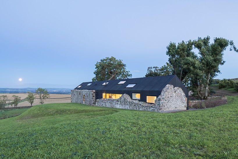 Lily jencks nathanael dorent complete remote ruins studio in scotland