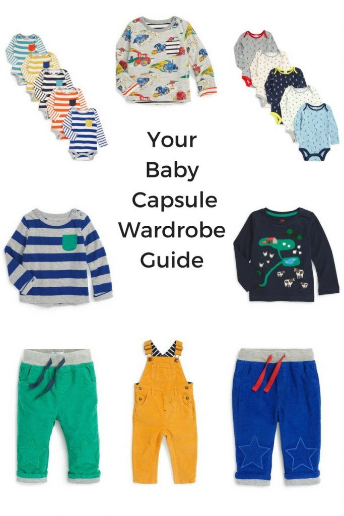 How to Make a Capsule Wardrobe for Your Baby - My Kid's Capsule