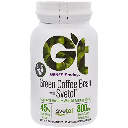 Genesis Today 100% Pure Green Coffee Bean Extract With