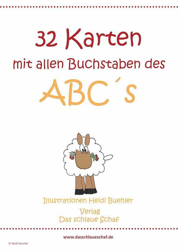 Flashcards   ABC-Poster Anlautbilder