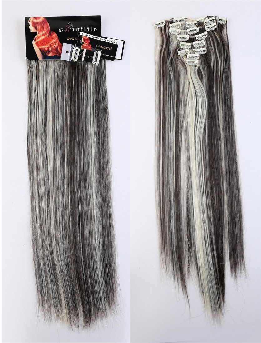 Lay 24 26 Inches 18clips Full Head Set Clip In Hair Extensions