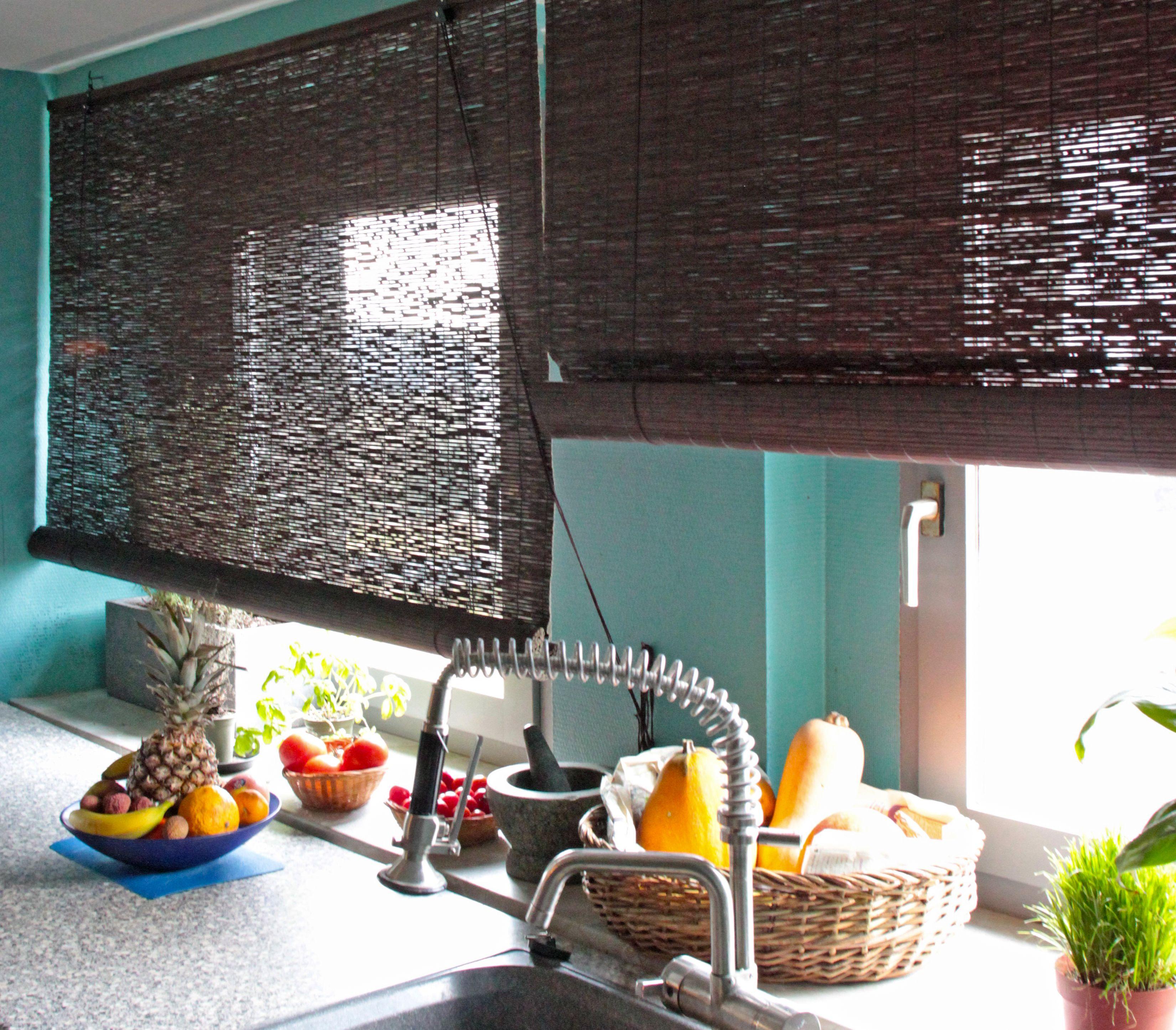 rollo #küche #bambus #natur Macht Euer Zuhause schöner mit unseren ...