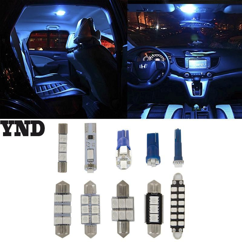7 Error Free Blue LED Interior Light Lamp Bulb Interior Package Set For BMW  E46. Yesterdayu0027s Price: US $9.98 (8.61 EUR). Todayu0027s Price: US $7.68 (6.64  EUR).