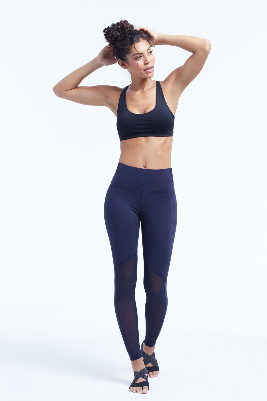 acb8b819936f05 Marika Olivia Vented High Rise Tummy Control Leggings | Yoga and ...