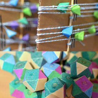 boogie beans: geometric decorations