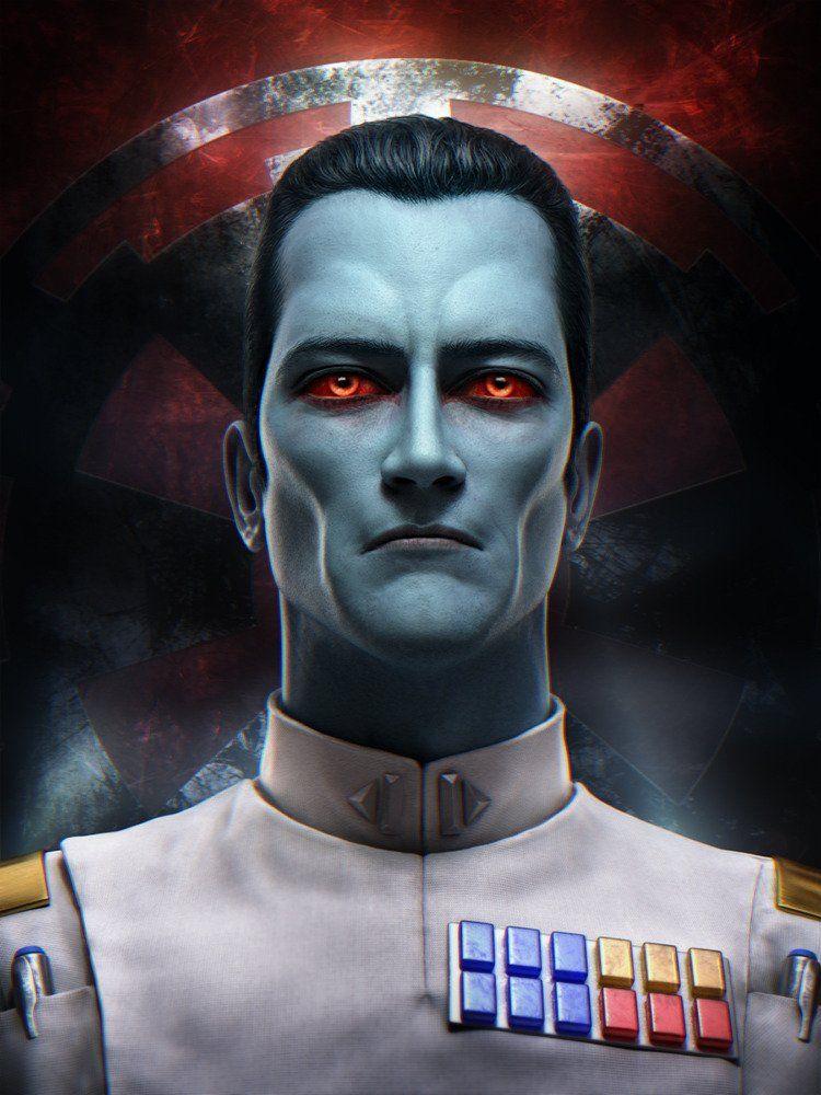 Thrawn Starwars Star Wars Images Grand Admiral Thrawn Star Wars Artwork