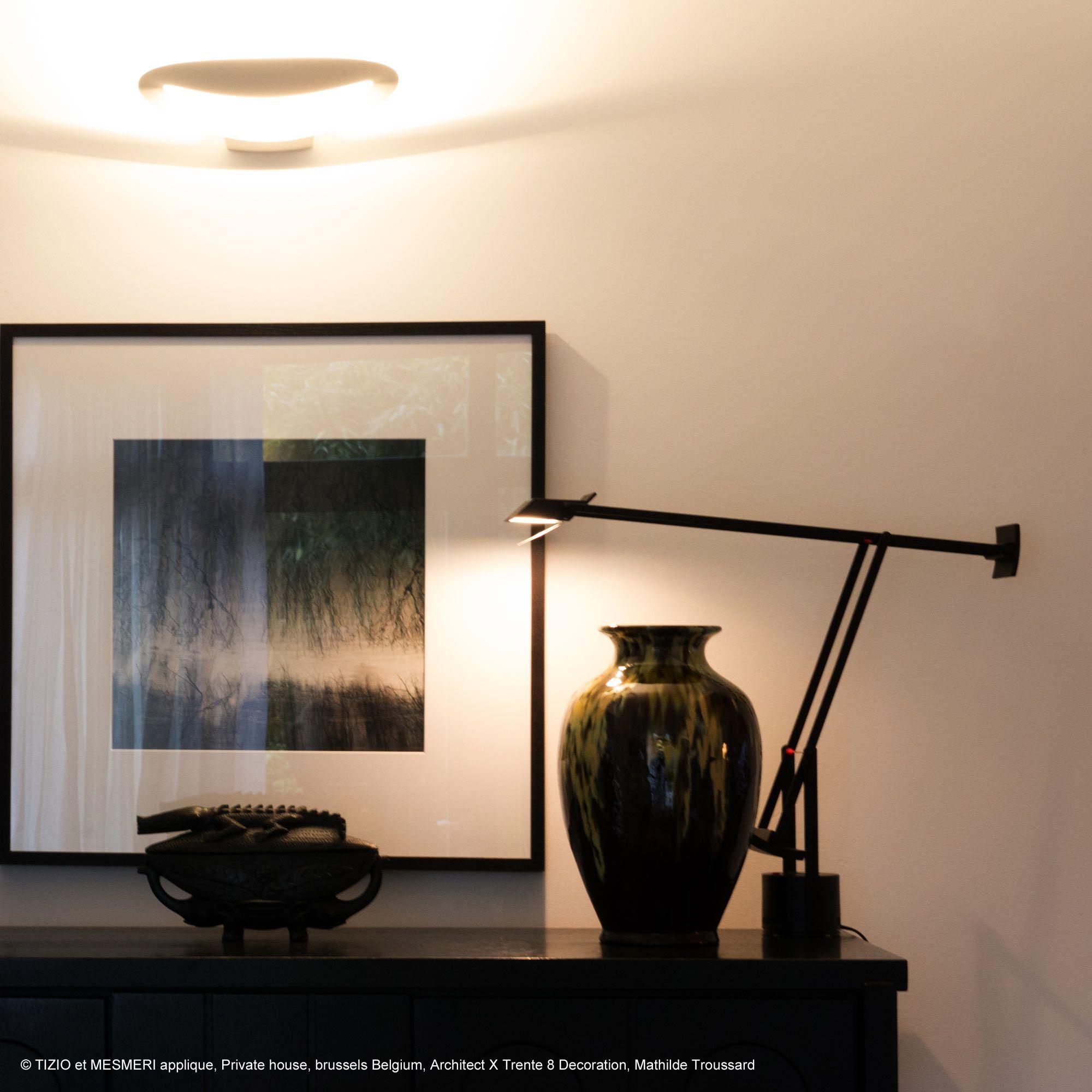 Lampe de bureau articulée Noir H66cm TIZIO