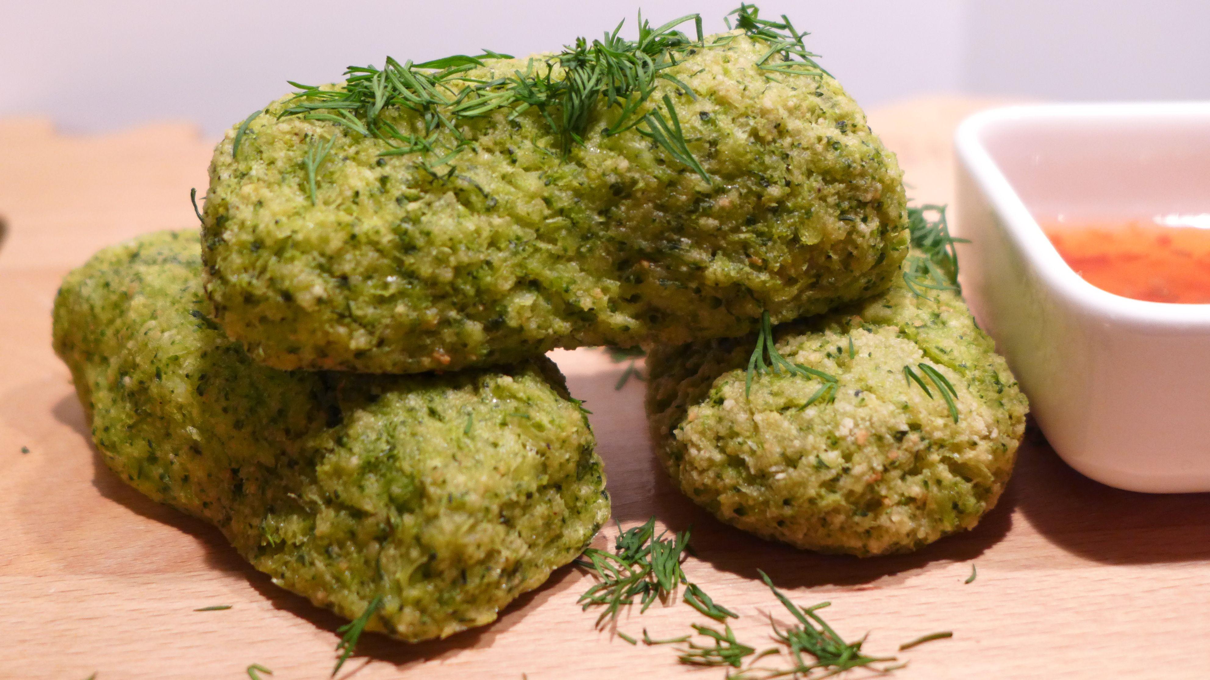 Праздничное меню. Овощные крокеты из брокколи