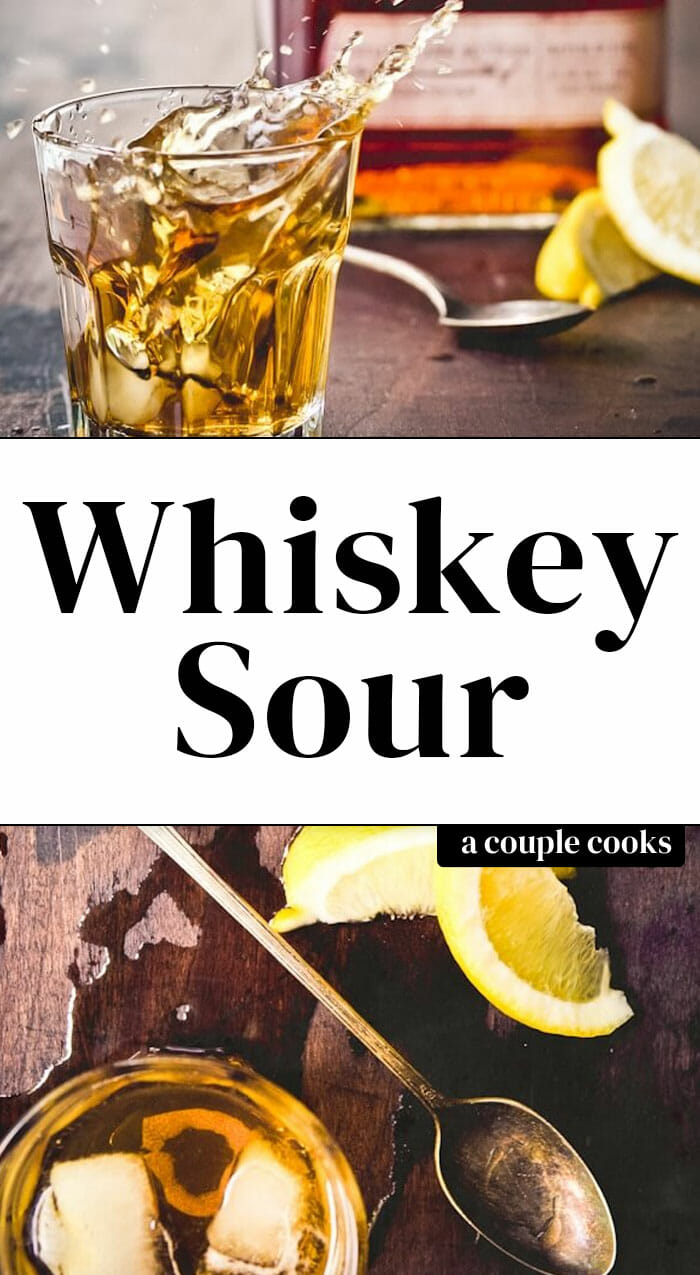 Whiskey Sour (Family Favorite)